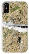 Path Leading To The Shrine Of Vaishno Devi IPhone Case