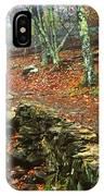 Path Through Forest, Shenandoah IPhone Case