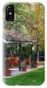 Patio Dining Madrid IPhone Case
