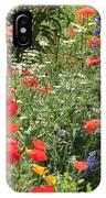 Patriotic Flowers IPhone Case