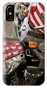 Patriotism Rides IPhone Case