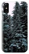 Pat's Winter Trees 1d IPhone Case