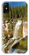 Pauina Falls Overlook IPhone Case