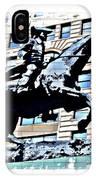 Paul Revere Galloping Statue IPhone Case
