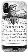 Paul Revere: Trade Card IPhone Case