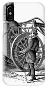 Paving Machine, 1879 IPhone Case