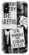 Peace Protest, 1962 IPhone Case