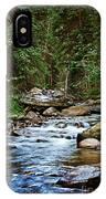 Peaceful Mountain River IPhone Case