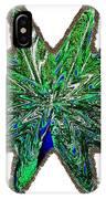 Peacock Burst IPhone Case