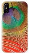 Peacock Feather 2 IPhone Case