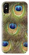 Peacock Feather Eyes IPhone Case