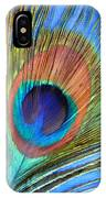 Peacock Glory IPhone Case