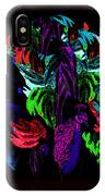 Peacock In Full Dress IPhone Case
