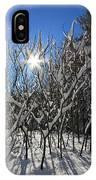 Peaking Sun IPhone Case