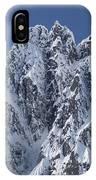 Peaks Of Takhinsha Mountains IPhone Case