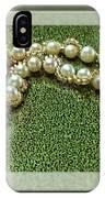 Pearl Bracelet IPhone Case
