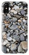Pebble Beach Rocks, Maine IPhone Case