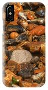 Pebbles And Stones On The Beach IPhone Case