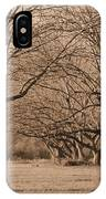 Pecan Orchard IPhone Case
