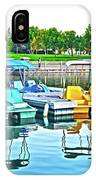 Pedal Boats IPhone Case
