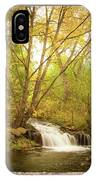 Peeling Window Waterfall Nature View IPhone Case