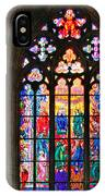 Pentecost Window - St. Vitus Cathedral Prague IPhone Case
