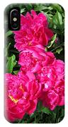 Peony Named Karl Rosenfield IPhone Case