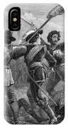 Pequot War, 1636-3 IPhone Case