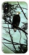 Perched Raptor  IPhone Case