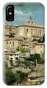 Perched Village Of Gordes IPhone Case