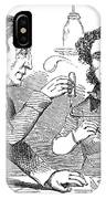 Performing The Marsh Test, 1856 IPhone Case