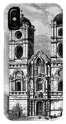 Peru: Jesuit Church, 1869 IPhone Case
