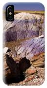 Petrified Logs In The Badlands IPhone Case