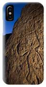 Petroglyphs Are Seen At Twilight IPhone Case