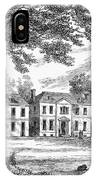 Philadelphia: Mansion IPhone Case