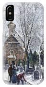 Philadelphia: Winter, 1873 IPhone Case
