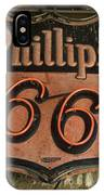 Phillips 66 Vintage Sign IPhone Case