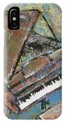 Piano Study 5 IPhone Case