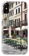 Piazza San Guilio IPhone Case