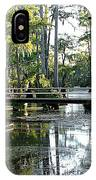 Pier In The Swamp IPhone Case