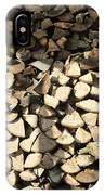 Pile Of Logs IPhone Case