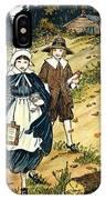 Pilgrim Schoolchildren IPhone Case