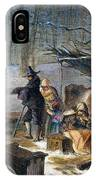 Pilgrims: First Winter, 1620 IPhone Case