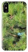 Pine Cones And Needles IPhone Case