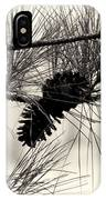 Pine Cones In The Treetops IPhone Case