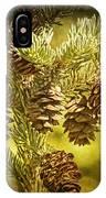 Pine Cones No.056 IPhone Case