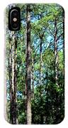 Pine Patch IPhone Case