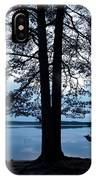Pine Silhuette IPhone Case