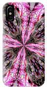 Pink And Purple Gemstones Jewelry Kaleidoscope IPhone Case