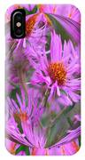 Pink Asters Energy IPhone Case